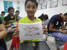 happy with his mind map